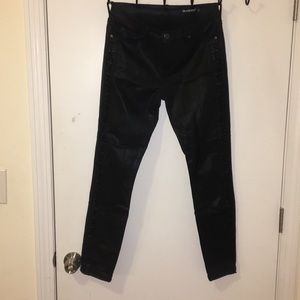 Blank NYC black wax skinny jean